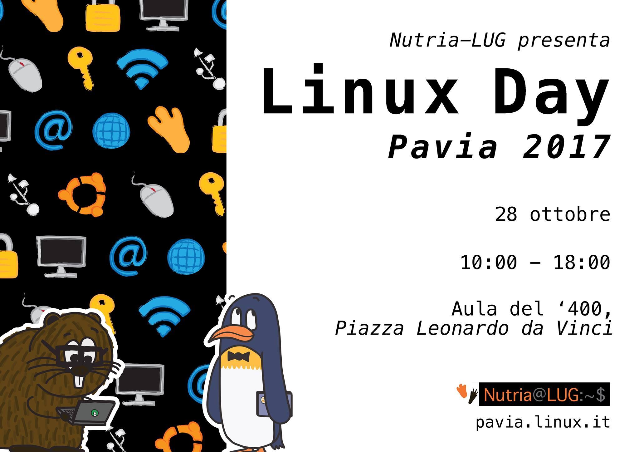 Linux Day 2017 - Nutria LUG