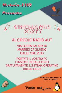 installation party @ radio aut